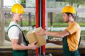 Storekeepers at work — Stock Photo