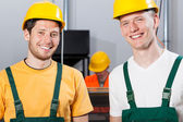Employees during job — Stockfoto