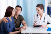 Medical appointment — Stock Photo