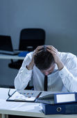 Overtime at work — Stock Photo