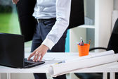Architect ready for a meeting — Stock Photo