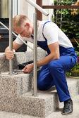 Repairman at work — Stock Photo
