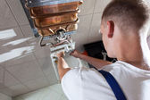 Repairman during work — Foto Stock