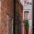 Стоковое фото: Side street in Caorle, Italy