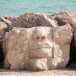 Stone face — Stock Photo