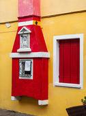Włoski okno — Zdjęcie stockowe