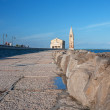 Promenade in Caorle — Stock Photo