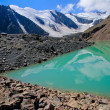 Blue Lake at Glacier — Stock Photo
