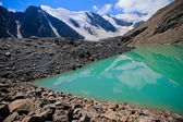 Blue Lake at Glacier — Stockfoto