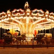 Merry-Go-Round at night — Stock Photo