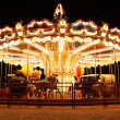 Stock Photo: Merry-Go-Round at night