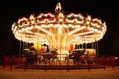 Merry-Go-Round at night — Stock Photo