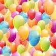 Vector balloons background — Stock Vector