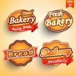 Bakery label, badge or seal — Vektorgrafik
