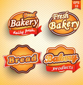 Bakery label, badge or seal — Stock Vector