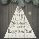 Christmas greeting card — Stock Vector #35295209