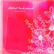 Background with pink delicate flowers — Vetorial Stock  #38705791