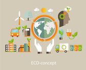 Eco concept. — Stock Vector