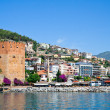 Fortress tower in Alanya - Stock Photo