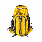 Backpack isolated with path — Stock Photo