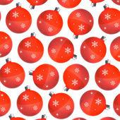 Palle di natale rosse — Foto Stock