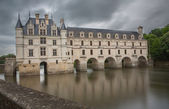 Chateau and Garden Chenonceau, France — Stock Photo