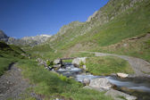 Torrent in valley, National park of pyrenees, France — Stock Photo