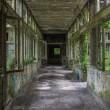 Stock Photo: Abandonned hospital