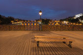 Pont des arts, Paris, France — Stock Photo