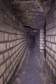 Catacombs of Paris — Stock Photo