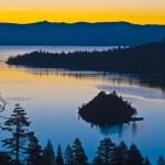 Emerald Bay California Sunrise — Stock Photo #24076561