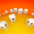 Global housing concept — Stock Photo