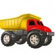 Toy Dump Truck — Stock Photo