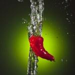 Pepper Splash — Stock Photo