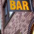 Generic Bar Sign — Stockfoto