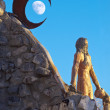 Thunder Mountain Sculpture — Stock Photo