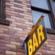Stock Photo: Generic Bar Sign