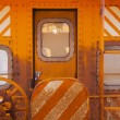 Train Caboose Closeup — Stock Photo