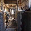 Stock Photo: Broken Train Interior