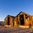 Rhyolite Shacks — Stock Photo