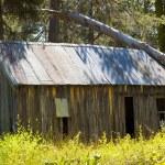 stary stodoła drewniana — Zdjęcie stockowe