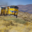 UPPR Freight Train — Stock Photo