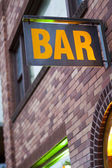 Generic Bar Sign — Stock Photo