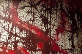 Blood Stained Wall — Stock Photo