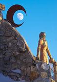 Thunder Mountain Sculpture — Stock Photo
