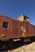 Verlaten trein buitenkant — Stockfoto