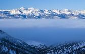 Fog Bank in the Sierras — Stock Photo