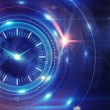 图库照片: Time and clock background