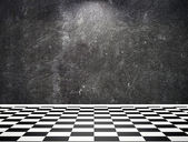 Black and white room — Stock Photo