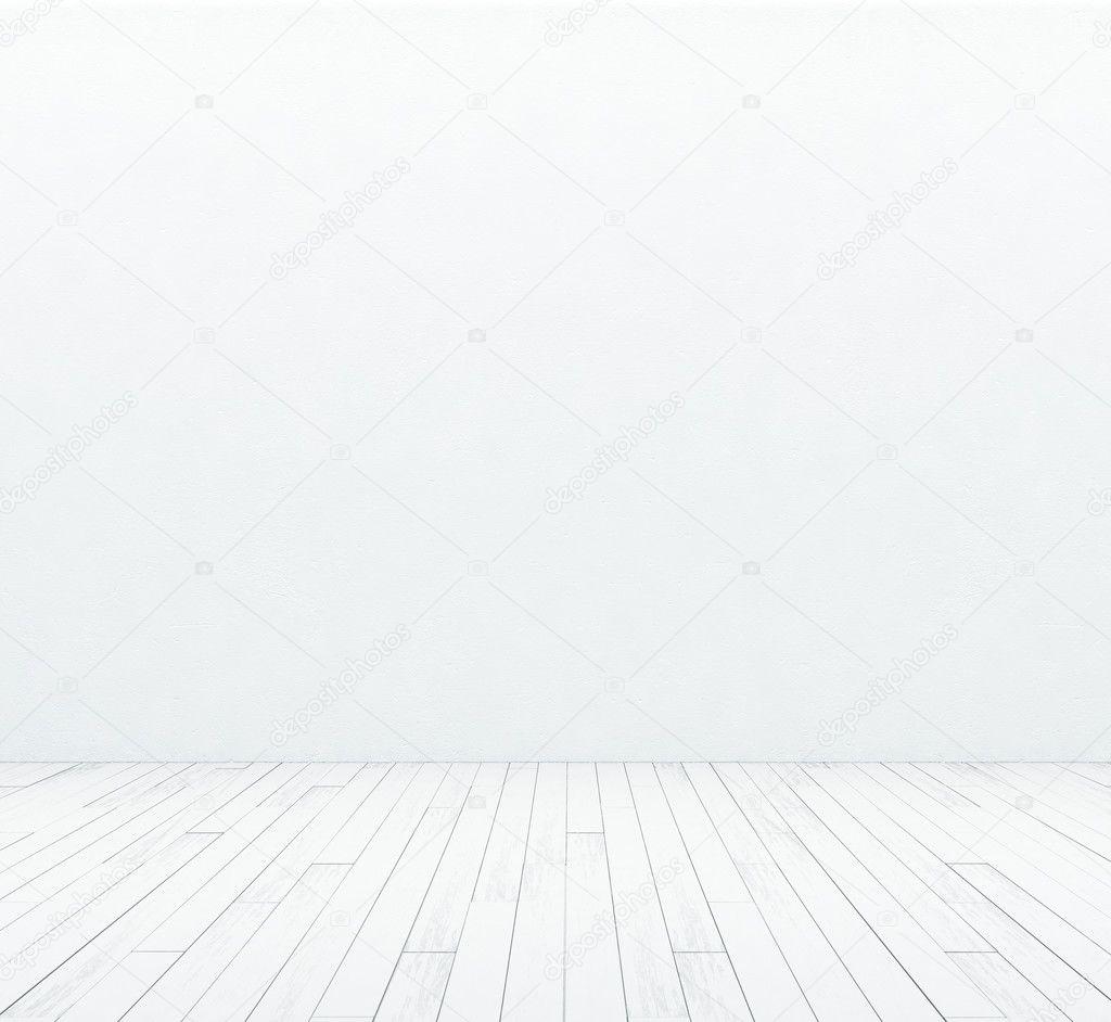 흰색 벽과 나무 바닥 — 스톡 사진 © kantver #30785453